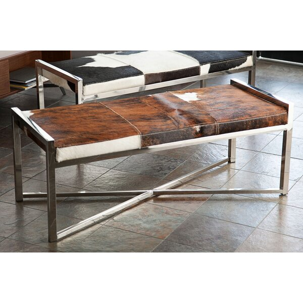 Mystique Leather Bench by Diamond Sofa
