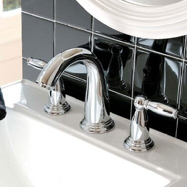 Swing C Widespread Faucet Standard Bathroom Faucet by Hansgrohe
