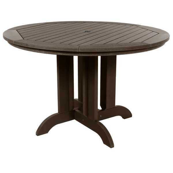 Lara Plastic Dining Table by Rosecliff Heights