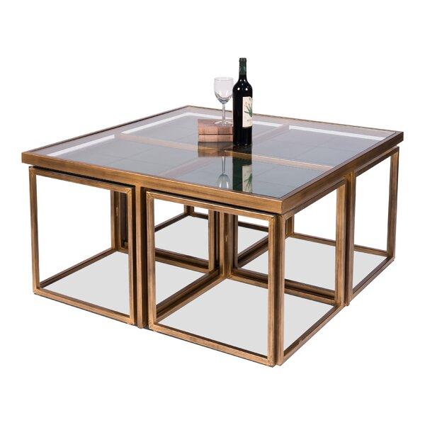 Langdon 4 Piece Coffee Table Set By Rosdorf Park