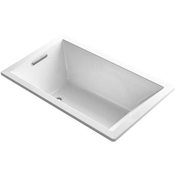 Underscore Vibracoustic 60 x 36 Soaking Bathtub by Kohler