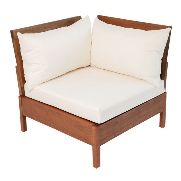 Maselli Patio Chair with Cushions by Rosecliff Heights