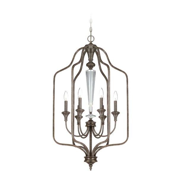 Lapierre 6 - Light Lantern Geometric Chandelier By Lark Manor
