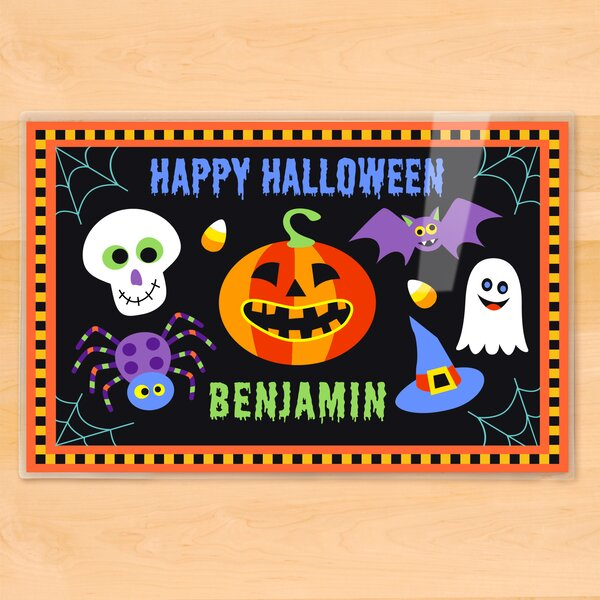 Halloween Personalized Placemat by Olive Kids