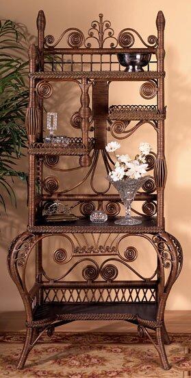 Wakefield Standard Bookcase by Yesteryear Wicker