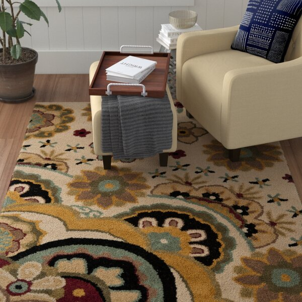 Armstrong Tufted  Ivory Rug by Winston Porter