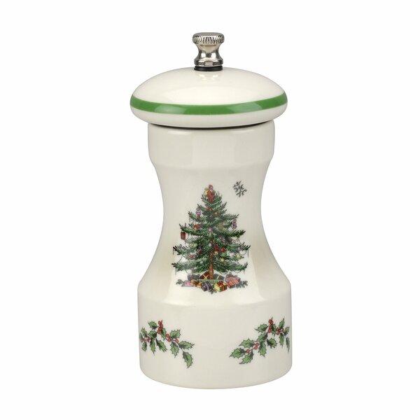 Christmas Tree Pepper Shaker By Spode.