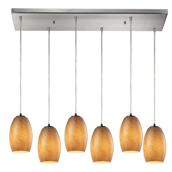 Hertford 6-Light Kitchen Island Pendant by Bay Isle Home