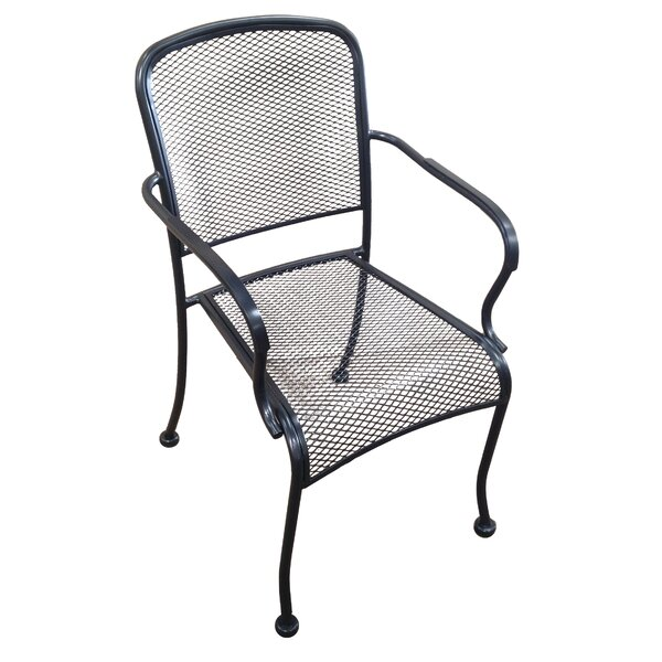 Stacking Patio Dining Chair (Set of 4) by H&D Restaurant Supply Inc.