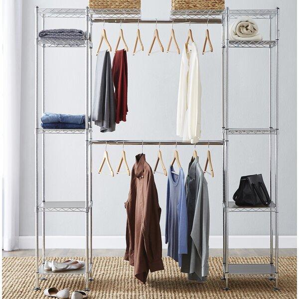 Wayfair Basics 58W - 83W Closet System by Wayfair Basics™