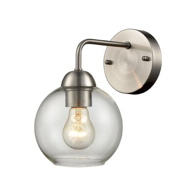 Ebern Designsebern Designs Akiharu 1 Light Armed Sconce X112614447 Bulb Type Halogen Dailymail