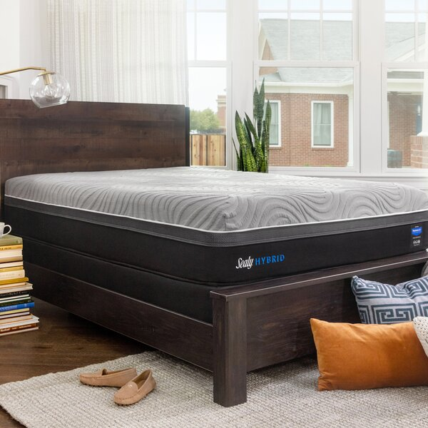 Hybrid™ Performance Copper II 13.5 Firm Mattress and 9 Box Spring by Sealy