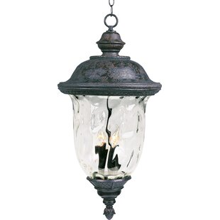 Islington 3-Light Outdoor Hanging Lantern By Astoria Grand Outdoor Lighting