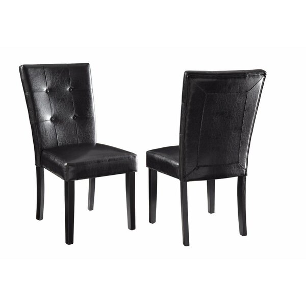 Goldmann and Elegant Upholstered Dining Chair (Set of 2) by Red Barrel Studio