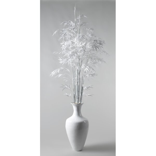 Bamboo Tree in Spun Bamboo Plant in Decorative Vase by Bayou Breeze