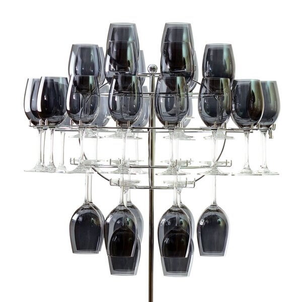 Chandelier Tabletop Wine Glass Rack by Ten Strawberry Street Ten Strawberry Street