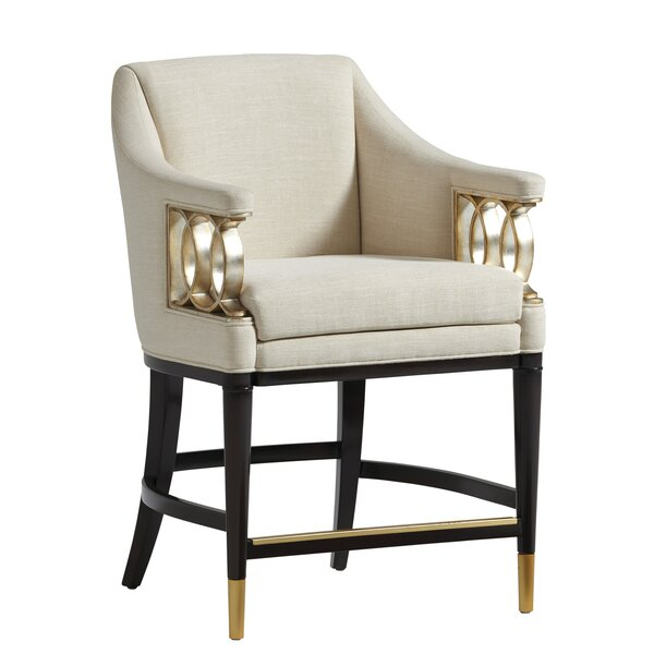 Carlyle Upholstered Bar & Counter Stool by Lexington