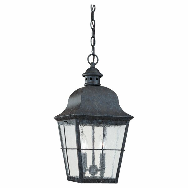 Chancellroy 2-Light Outdoor Hanging Lantern by Loon Peak