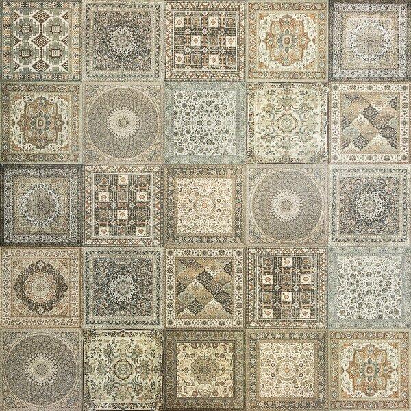 Nain Natural 24'' x 24'' Porcelain Field Tile in Green/Gray by Splashback Tile