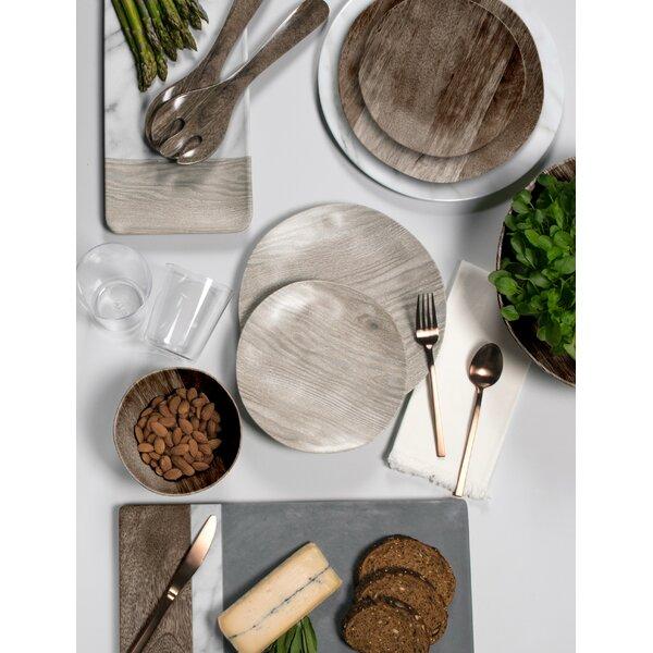 Friese French Oak 12 Piece Melamine Dinnerware Set, Service for 4 by Greyleigh