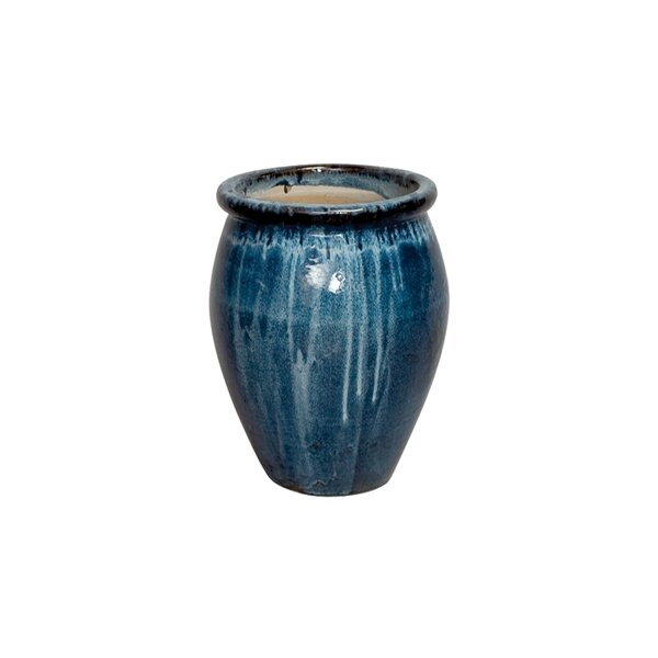 Ceramic Lip Pot Planter by Emissary Home and Garden