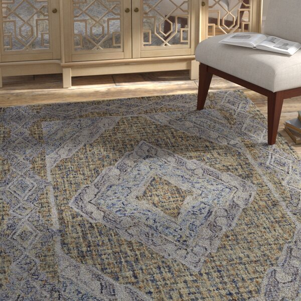 Haeli Hand-Tufted Area Rug by Bloomsbury Market