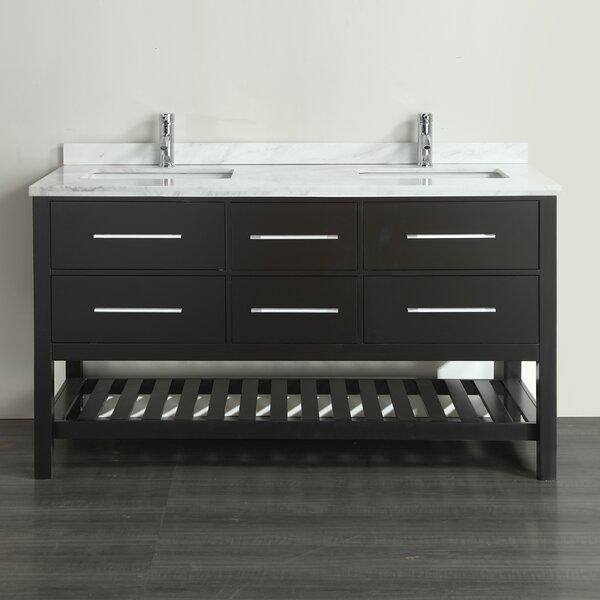 Keighley 72 Double Bathroom Vanity Set by Highland Dunes