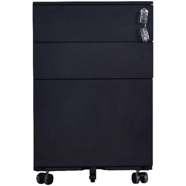 Cataleya 3 Drawer Mobile Vertical Filing Cabinet