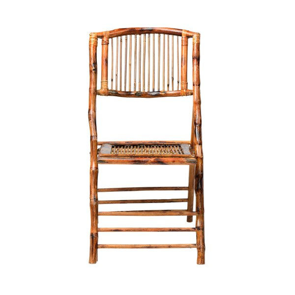 Bamboo Folding Chair by Commercial Seating Products