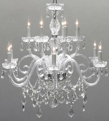 Kelty 12-Light Candle Style Tiered Chandelier by House of Hampton House of Hampton