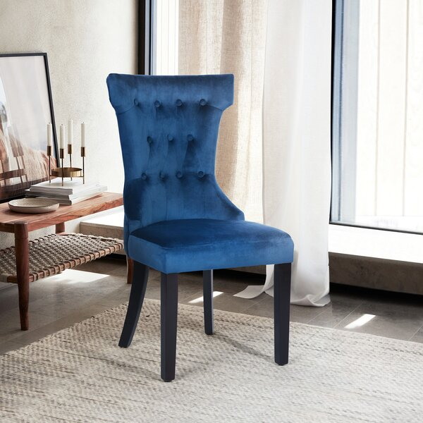 Baltimore Tufted Upholstered Parsons Chair (Set of 2) by Everly Quinn Everly Quinn