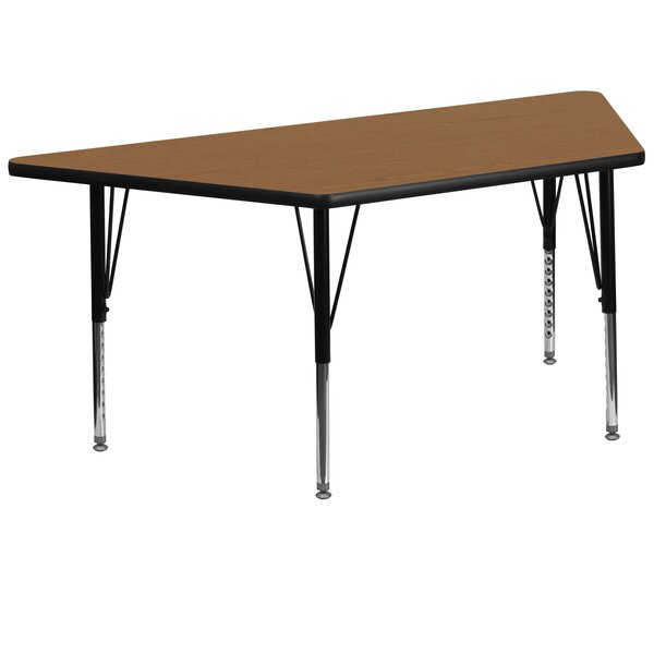 57.5 x 26.25 Trapezoidal Activity Table by Flash Furniture
