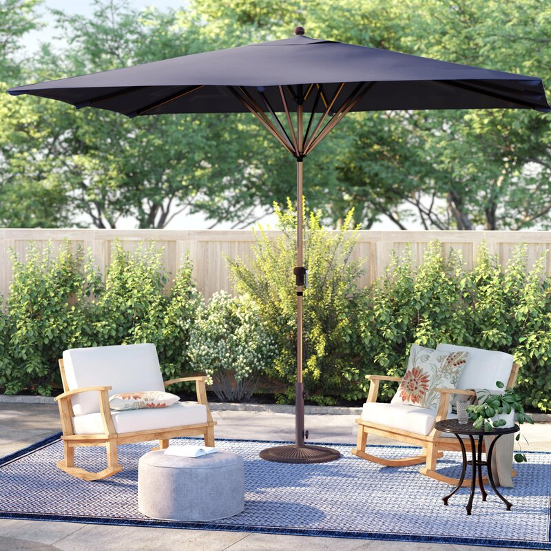 X 11 Rectangular Market Umbrella