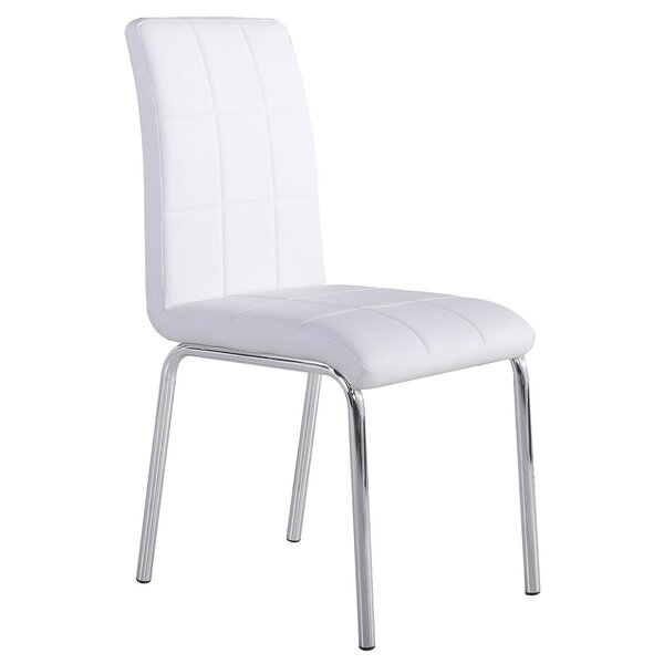 Azaiah Upholstered Stacking Side Chair (Set Of 4) By Wade Logan