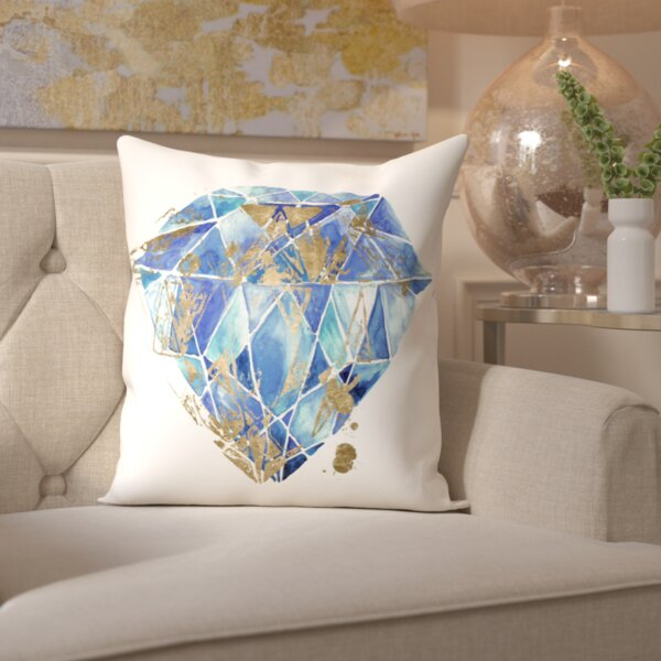 Wallis Treasure Throw Pillow by House of Hampton