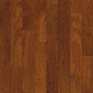 Turlington 5 Engineered Cherry Hardwood Flooring In Low Glossy Bronze