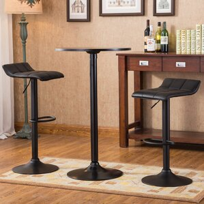 Ainsley 3 Piece Round Pub Table Set by Williston Forge