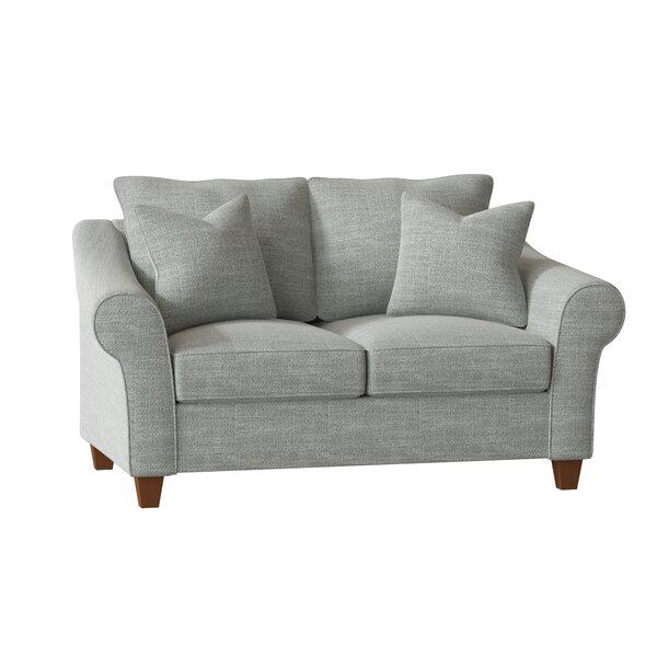 Litzy Loveseat by Wayfair Custom Upholstery Wayfair Custom Upholstery™