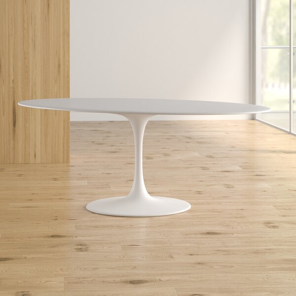 Larkson White Dining Table by Langley Street