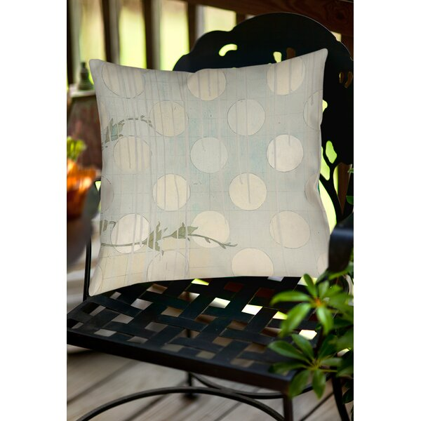 Summer Vine 3 Indoor/Outdoor Throw Pillow by Manual Woodworkers & Weavers