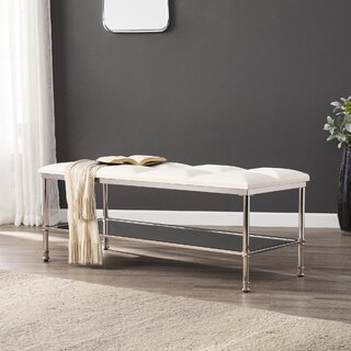 Annika Metal Storage Bench by Orren Ellis SKU:DA623425 Order