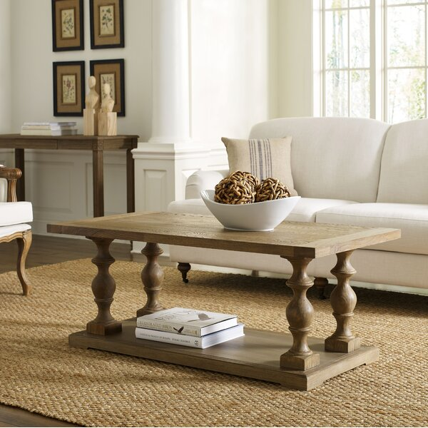Atchison Pedestal Coffee Table by Lark Manor