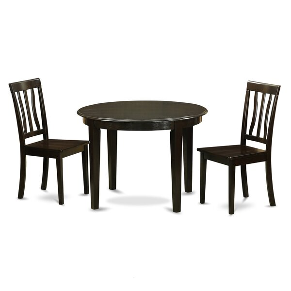 Boston 3 Piece Dining Set by Wooden Importers