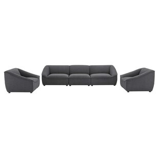 Bautista 3 Piece Living Room Set by Wade Logan®