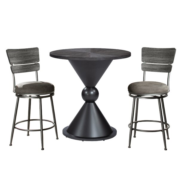 Pool 3 Piece Pub Table Set by Williston Forge