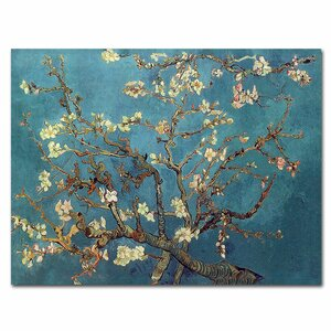 Almond Blossoms by Vincent Van Gogh Painting Print by Trademark Fine Art