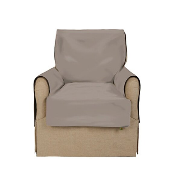 Box Cushion Armchair Slipcover by Messy Marvin