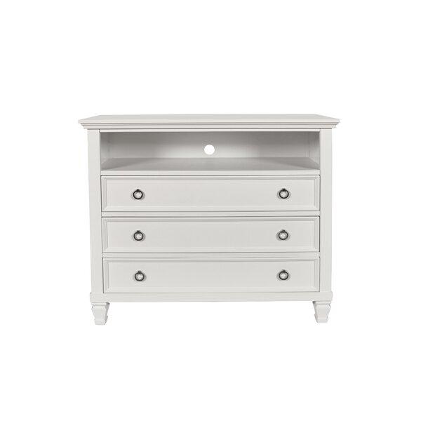 Jarvis 3 Drawer Standard Dresser/Chest by Alcott Hill