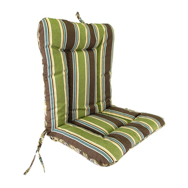 Wrought Iron Indoor/Outdoor Dining Chair Cushion by Jordan Manufacturing
