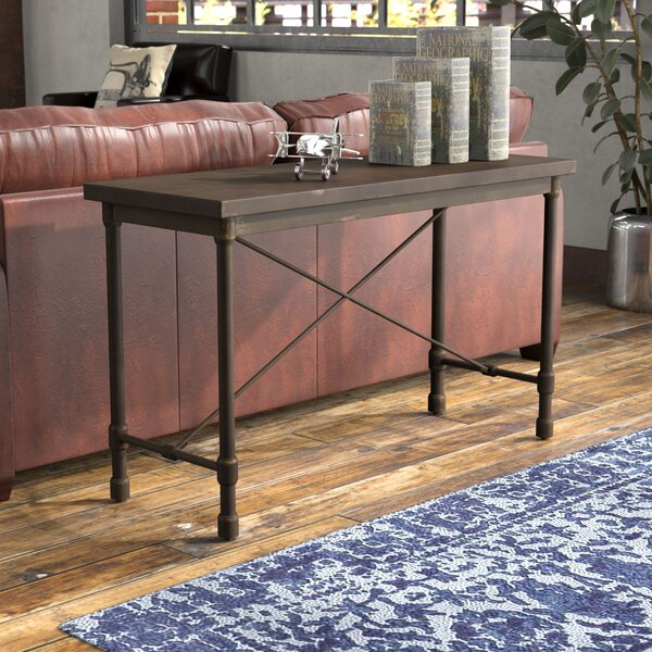 Selena Industrial Console Table by Trent Austin Design